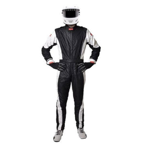 Pyrotect - Pro One FIA One Piece Racing Suit, Black/White