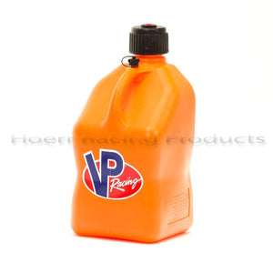 VP Racing - UTILITY JUG 5 GAL ORANGE SQUARE