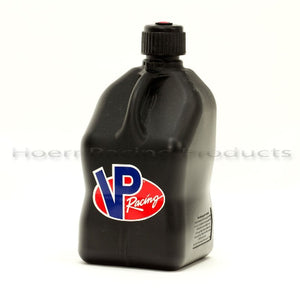 VP Racing - UTILITY JUG 5 GAL BLACK SQUARE
