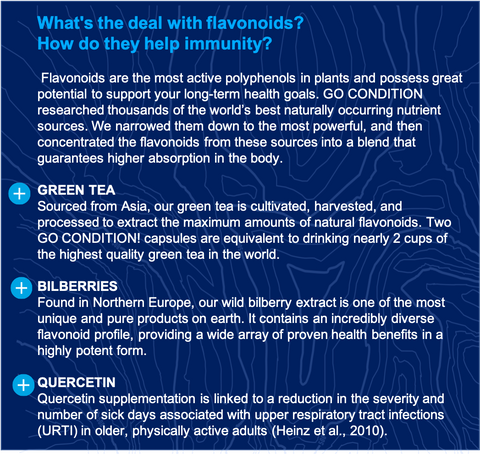 Flavonoids and how they help with immunity