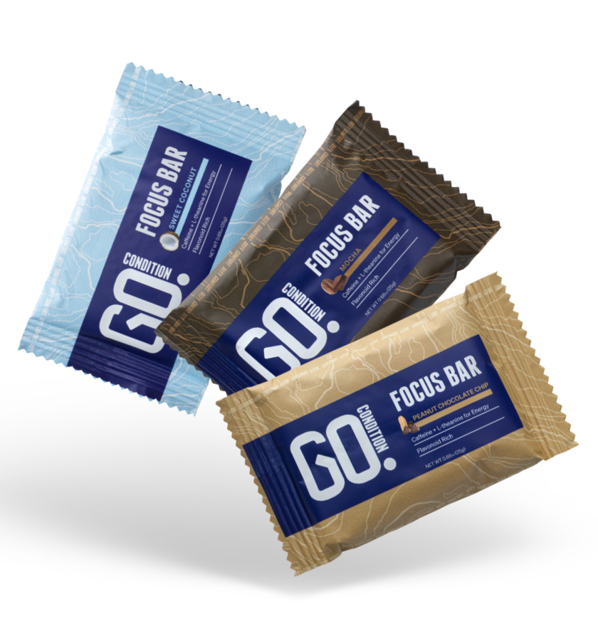 Go Condition Focus Bars- Sweet Coconut Starter Pack