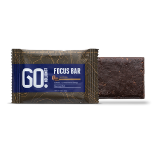 Go Condition Focus Bars- Mocha Flavor 12 Pack