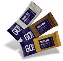 Load image into Gallery viewer, Go Condition Snack Bar 3 Flavor Taster Pack