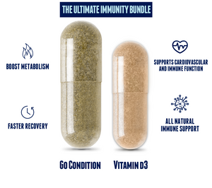 Go Condition Immunity Stack with Vitamin D3