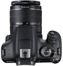 Load image into Gallery viewer, Canon EOS 1500D 24.1MP Digital SLR Camera (Black) with 18-55 and 55-250mm is II Lens