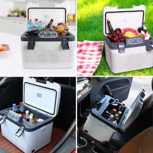 Dual-Use Car Refrigerator Multi-Function Temperature Control (Cooler and heater)