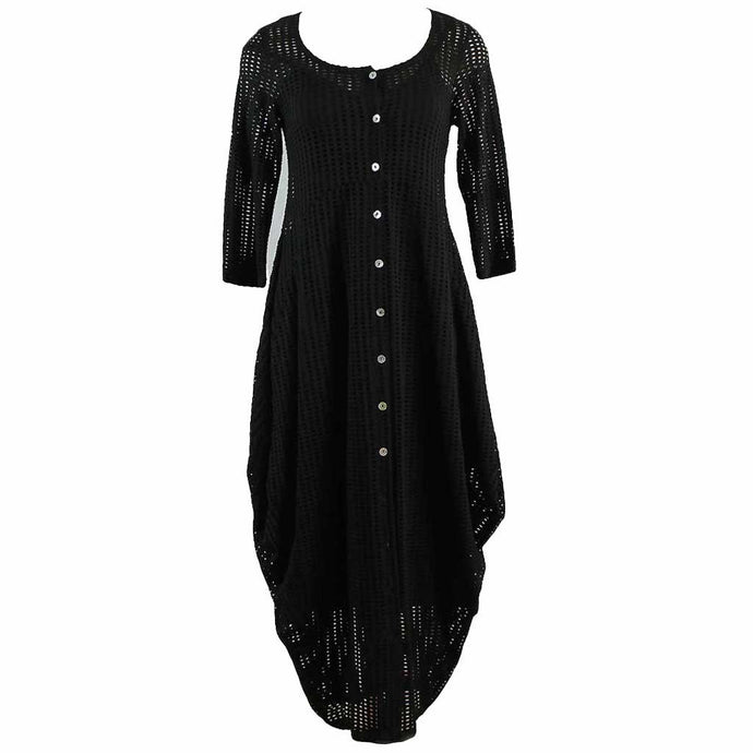Alembika Button Up Dress - Simply Bella