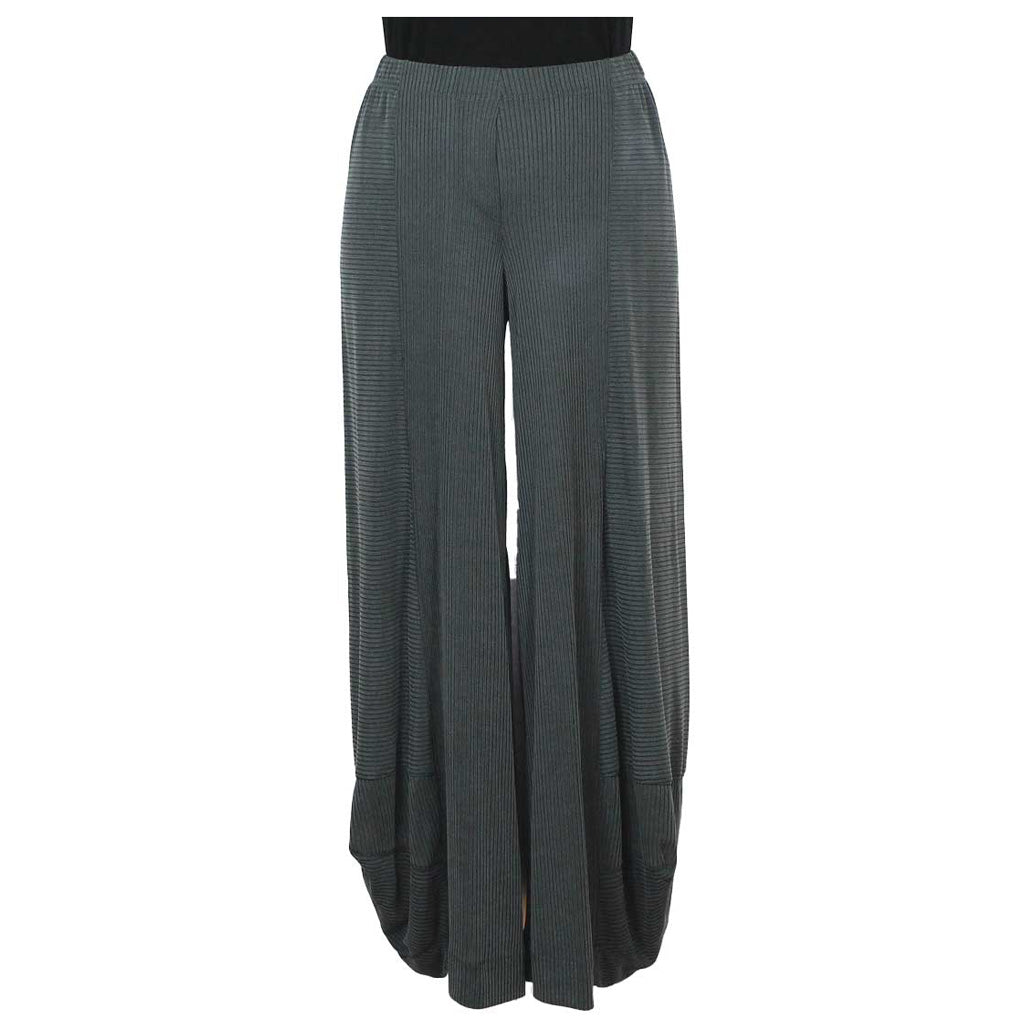 Alembika Punto Ribbed Pants GY - Simply Bella
