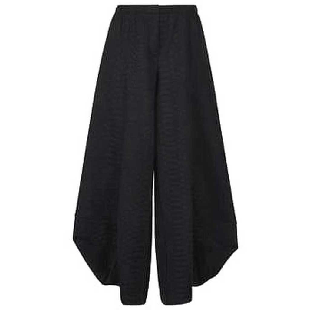 Alembika Punto Textured Pants Black