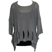 Load image into Gallery viewer, BK Moda Holy Moly Sweater Gray