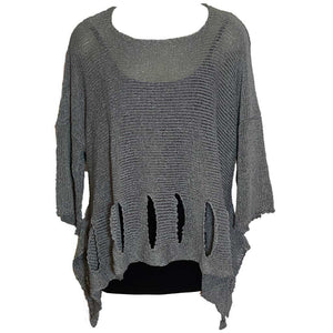BK Moda Holy Moly Sweater Gray
