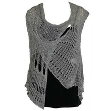 Load image into Gallery viewer, BK Moda Distressed Vest Gray