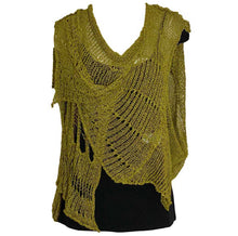 Load image into Gallery viewer, BK Moda Distressed Vest Mustard