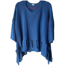 Load image into Gallery viewer, BK Moda Holy Moly Sweater Blue
