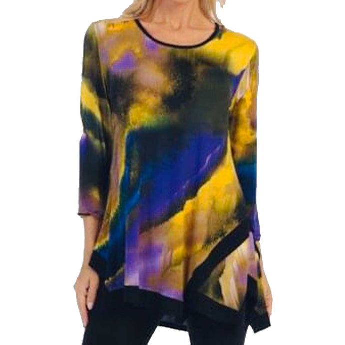 Caribe Purple Dream Swing Tunic