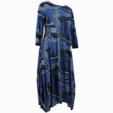 Load image into Gallery viewer, Comfy USA Kati Dress Blue - Simply Bella
