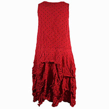 Load image into Gallery viewer, Comfy USA Lori Red Dress