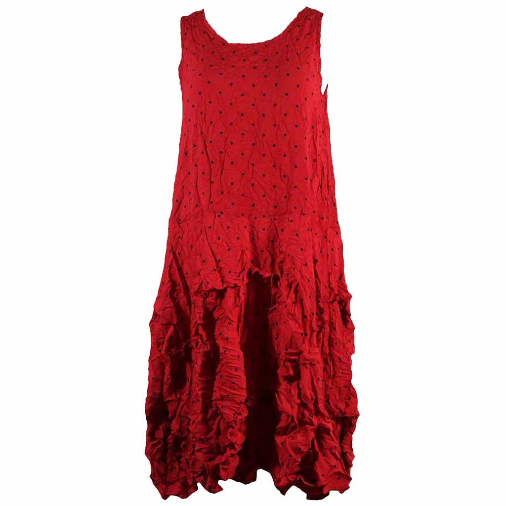 Comfy USA Lori Red Dress