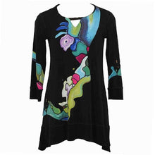 Load image into Gallery viewer, Eva Varro V Tap Tunic - Simply Bella