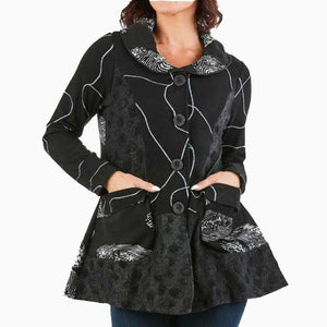 High Secret Button Down Jacket - Simply Bella