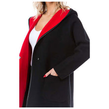 Load image into Gallery viewer, High Secret Hooded Coat BK - Simply Bella