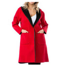 Load image into Gallery viewer, High Secret Hooded Coat RD - Simply Bella