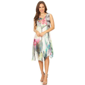 High Secret Multicolored Dress - Simply Bella