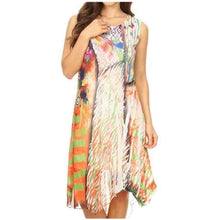 Load image into Gallery viewer, High Secret Multicolored Print Dress - Simply Bella