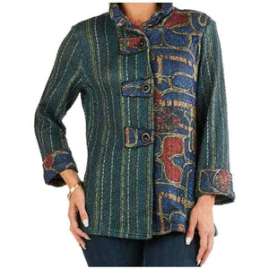 High Secret Patchwork Jacket - Simply Bella