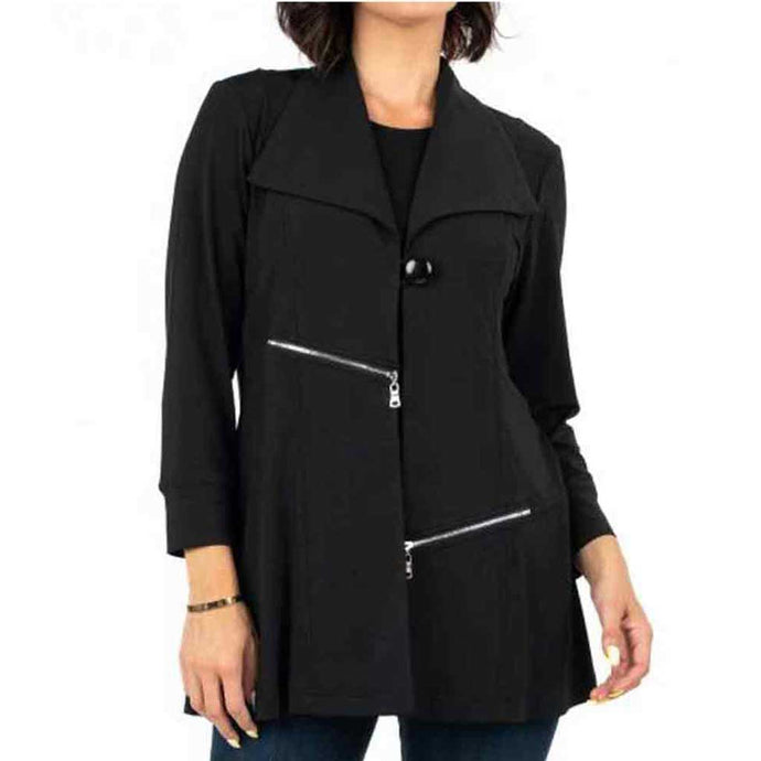High Secret Zip Detail Jacket - Simply Bella