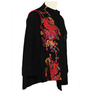 IC Collection Floral Print Jacket - Simply Bella