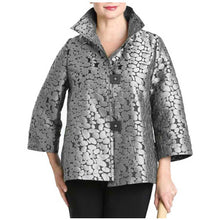 Load image into Gallery viewer, IC Collection Jacquard Jacket - Simply Bella