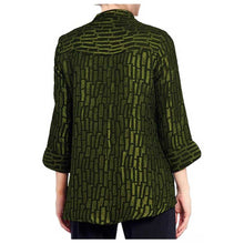 Load image into Gallery viewer, IC Collection Kiwi Jacquard Jacket - Simply Bella