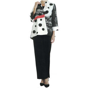 IC Collection Polka Dot Jacket - Simply Bella