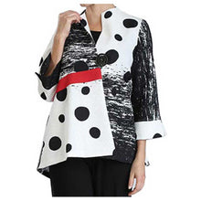 Load image into Gallery viewer, IC Collection Polka Dot Jacket - Simply Bella