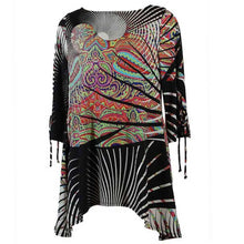 Load image into Gallery viewer, IC Collection Twist Print Tunic