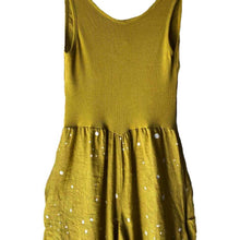 Load image into Gallery viewer, Inizio Magic Yellow Dot 2 Pocket Dress