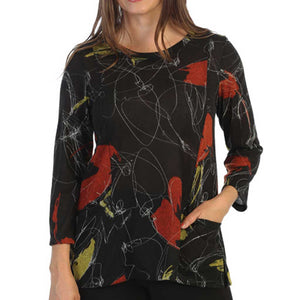 J&J Collection Lovely Tunic Top