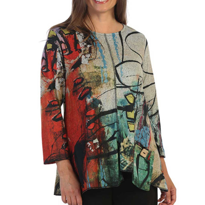 J&J Collection Kelly Tunic Top