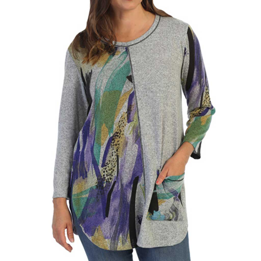 J&J Collection Savannah Tunic Top