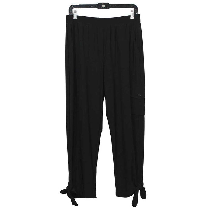 JJ Collection Laidback Pants BK - Simply Bella