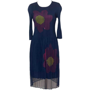 Journey Navy Overlay Dress