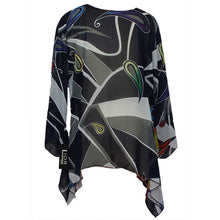 Load image into Gallery viewer, Lior Paris Tunic Multi Black - Simply Bella