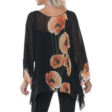 Load image into Gallery viewer, Lior Paris Sheer Poppy Top