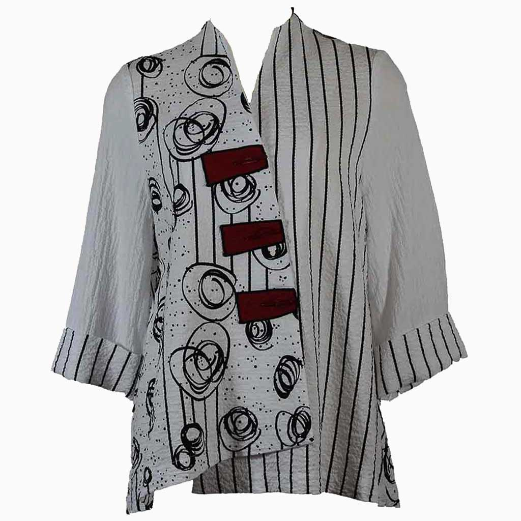 Moonlight Swirls Stripes Jacket