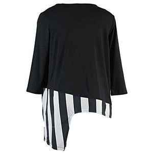 Alembika Panel Stripe Top