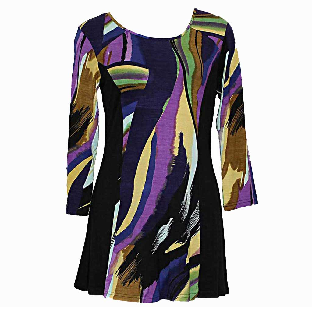 Parsley & Sage Abstract Tunic - Simply Bella