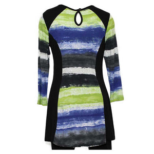 Parsley & Sage Stripe Tunic - Simply Bella