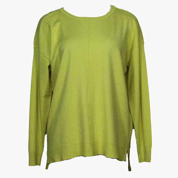 Renuar Perfect Lime Sweater - Simply Bella