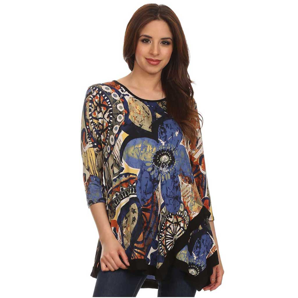 SB Collection Silky Tunic NB - Simply Bella